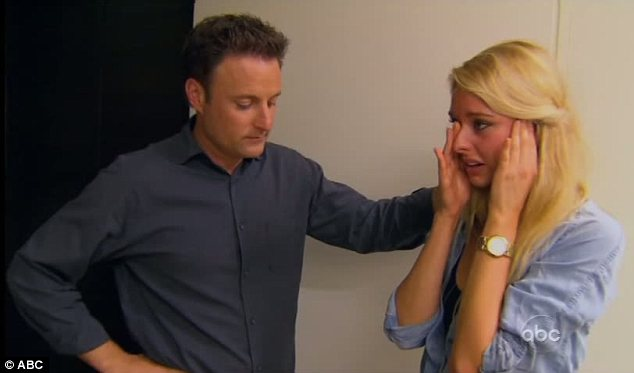 Chris Harrison and Casey Shteamer The Bachelor Season 16