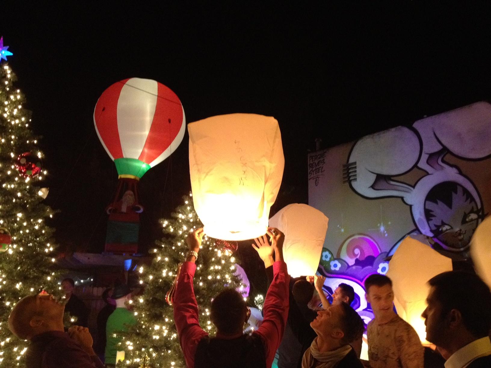 lanterns horizontal