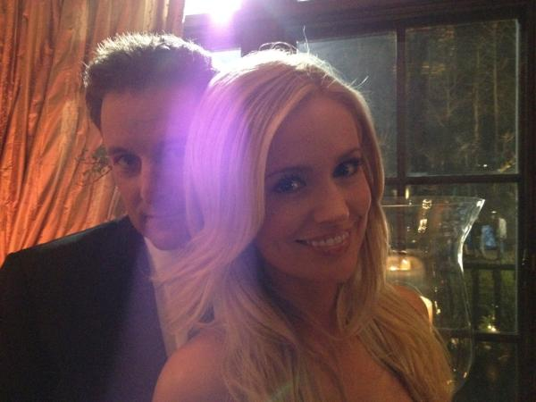 Bachelorette Emily Maynard and Chris Harrison