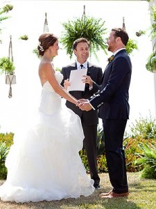Cassie Lambert Peter Scalettar wedding Chris Harrison
