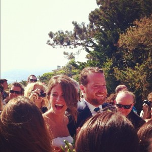 Cassie Lambert and Peter Scalettar wedding