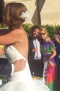 Cassie Lambert Peter Scalettar wedding