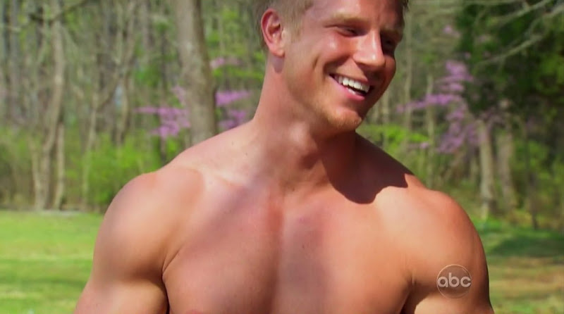 Sean Lowe Bachelorette shirtless
