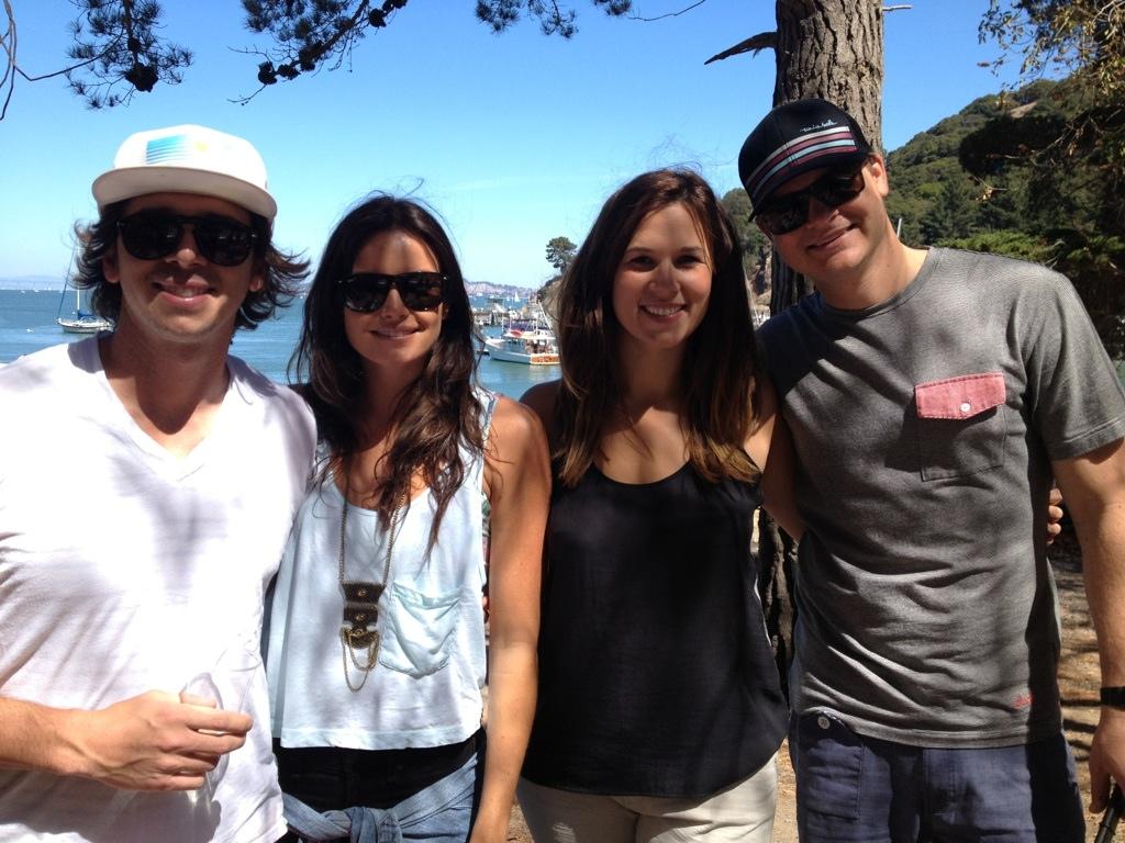 Bachelor Ben Flajnik, Courtney Robertson and Julia Flajnik
