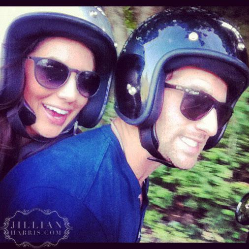 Jillian Harris and new boyfriend Justin