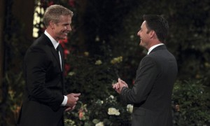 Bachelor Sean Lowe and Chris Harrison