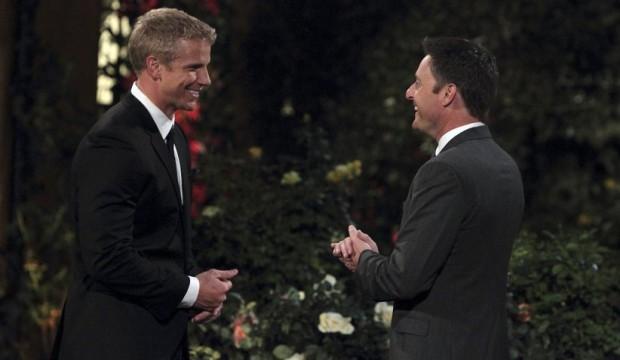 Bachelor Sean Lowe and Chris Harrison