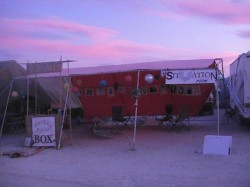 The Situation Room at Burning Man