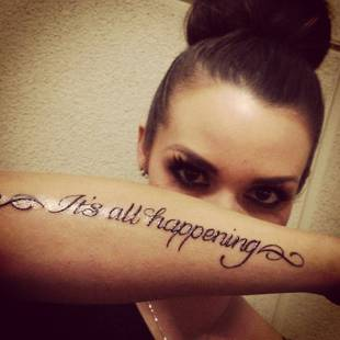 Vanderpump rules scheana marie jancan new tattoook here for Inflictions tattoo covina ca