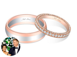 Sean and Catherine wedding rings
