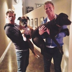 Jef Holm and Sean Lowe