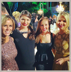 Trista Sutter Instagrammed a picture with her fellow Bachelorette stars at Sean Lowe and Catherine Giudici's wedding Credit: Courtesy Trista Sutter