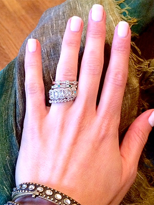 Emily Maynard's engagement ring