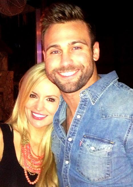 Emily Maynard and Tyler Johnson get engaged Source: Emily Maynard