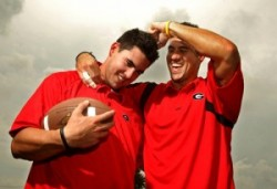 Josh Murray and brother Aaron Source: Twitter