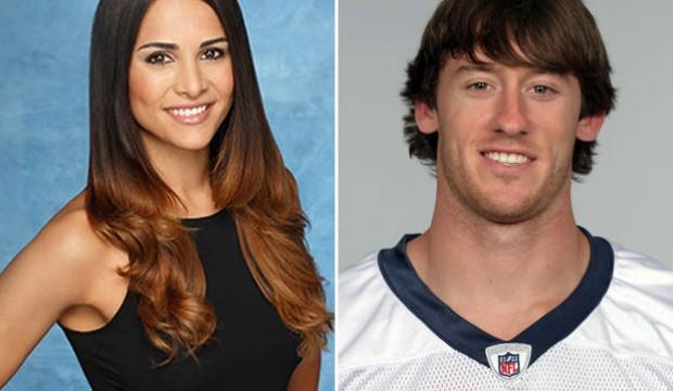 Andi Dorfman's ex-boyfriend John Busing Source: ABC, NFL