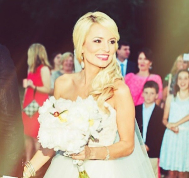 Emily Maynard wedding to Tyler Johnson Source: Instagram