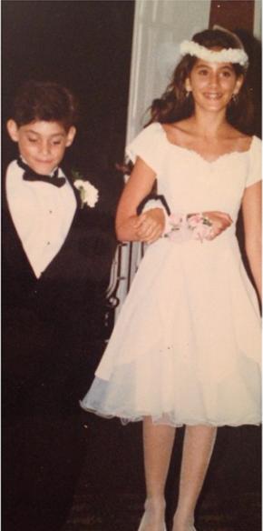 Ryan De Nino and his sister Source: Instagram