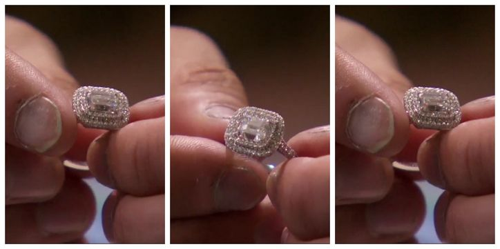 Whitney Bischoff's Neil Lane engagement ring Source: ABC