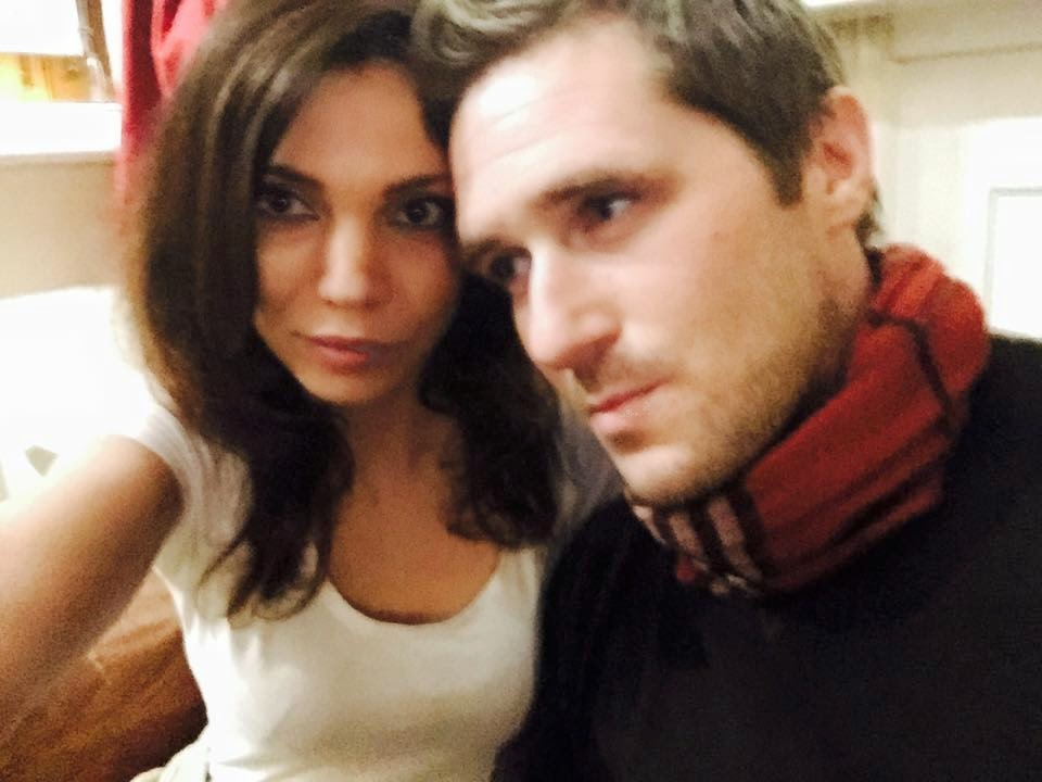 Max Spiers and girlfriend Sarah Adams