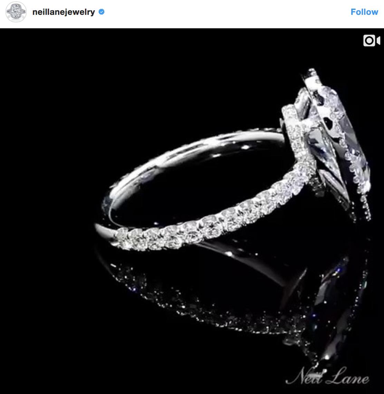 Rachel Lindsay\'s Neil Lane engagement ring | Ok! Here\'s the ...