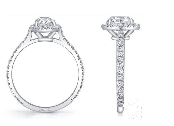 Replacement engagement ring for Carly Waddell Source: Neil Lane